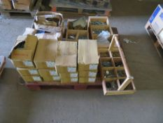 Pallet to contain various Woodscrews, Bolts, Nuts etc