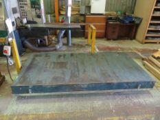 Trefel 1500kg Capacity Scissor Lift Platform