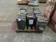 Pallet to contain Qty of various Timber Treatment paint/Concentrate