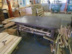 Heavy Duty Metal Workbench