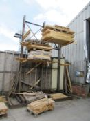2 bays of Steel Cantilever Racking Please Note Buyer to Remove PLEASE NOTE This lot is to be collect