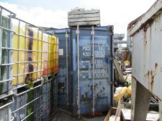 40' Shipping Container, Contents included Please Note Buyer to Remove PLEASE NOTE This lot is to be