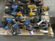 Pallet to contain 9 Pneumatic Nail Guns