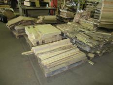 6 x stacks of various Wood Stock