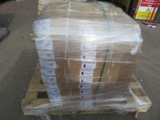 (ED57) PALLET TO CONTAIN 10 x NEW 720MM WALL CARCASE CABINETS.