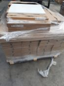 (ED26) PALLET TO CONTAIN 105 ITEMS OF NEW KITCHEN GOODS TO INCLUDE: VARIOUS WHITE & IVORY GLOSS