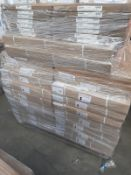 (ED2) PALLET TO CONTAIN 42 ITEMS OF NEW KITCHEN GOODS TO INCLUDE: 14 x 600MM WHITE DRAWER CARCASE