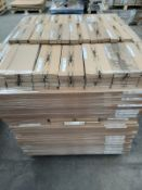 (ED25) PALLET TO CONTAIN 155 ITEMS OF NEW KITCHEN GOODS TO INCLUDE: LARGE QTY OF MIST GREY DOORS/