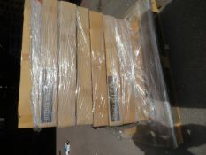 (ED50) PALLET TO CONTAIN 8 x NEW 60MM INT CURVED WALL CARCUS CABINETS.