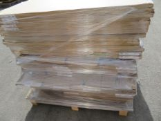 (ED55) PALLET TO CONTAIN 52 ITEMS OF NEW KITCHEN GOODS TO INCLUDE: VARIOUS DOORS, FACIAS INC IVORY
