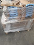 (ED8) PALLET TO CONTAIN 53 ITEMS OF NEW KITCHEN GOODS TO INCLUDE: 12 x 300MM CURVED ISLAND DOORS, 38