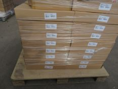 (ED56) PALLET TO CONTAIN 17 NEW ATIRA 600MM ADVANCED DRAWER BOX (SILVER) .