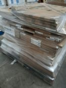 (ED5) PALLET TO CONTAIN 84 ITEMS OF NEW KITCHEN GOODS TO INCLUDE: DARK GREY 400MM BASE/WALL FASCIA/