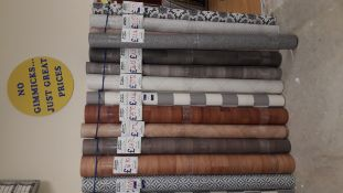 13 x Part Rolls of Various Lino