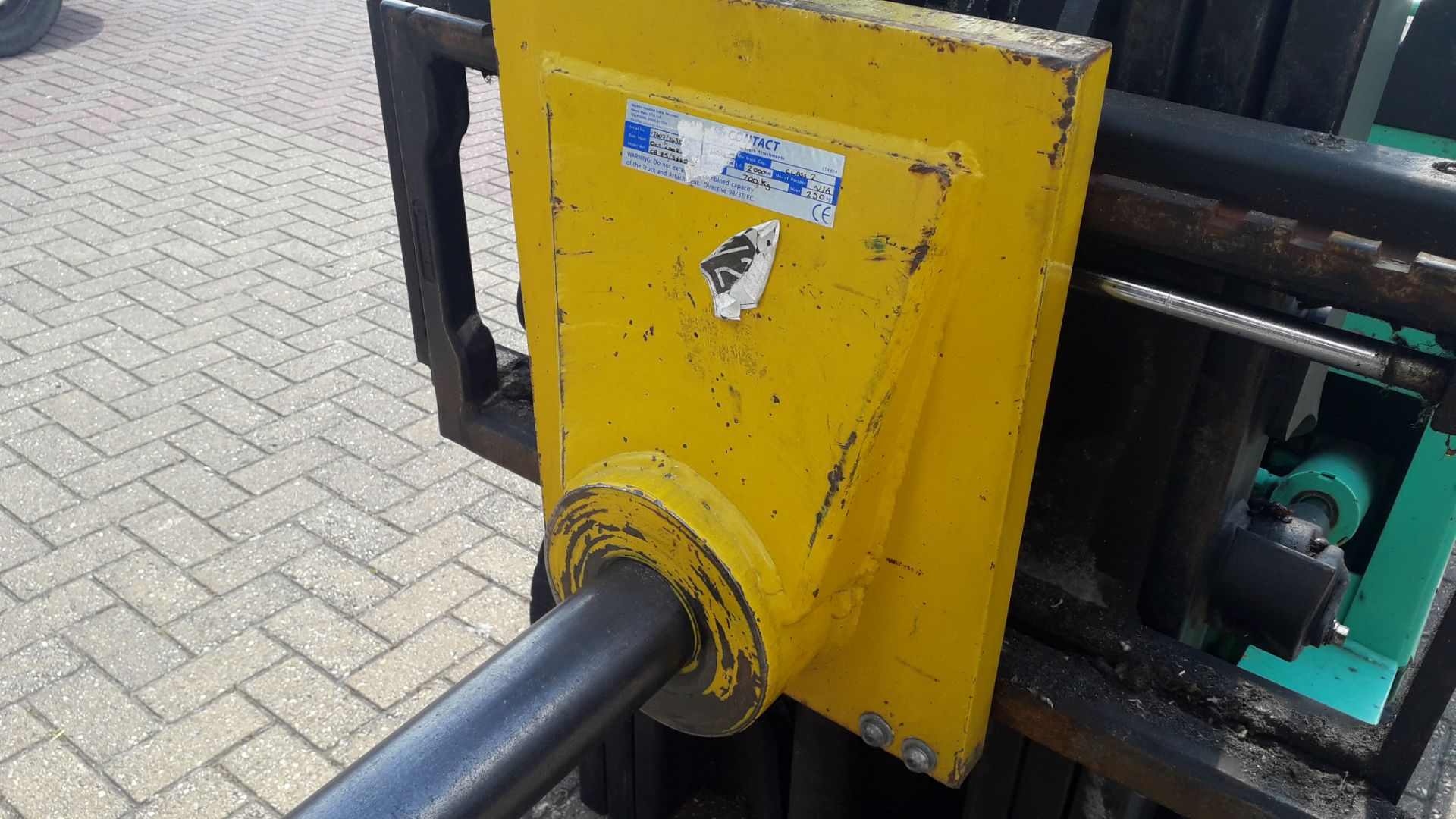 Lot 1B - Carpet Boom Fork Lift Attachment (Buyer to remove