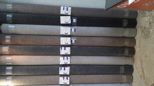 7 Rolls of Fairway Carpet Comprising of Grouse 2.9m x 4m Rp. £7 Sqm. 2 x Greywolf 2.9m x 4m Rp. £7