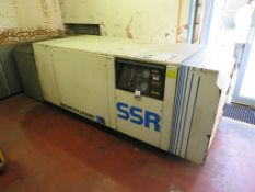 Ingersoll Rand SSR Ml-45 Screw Compressor & a HPC Plusair AS 30 Screw Compressor
