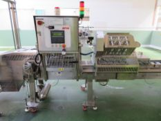 2006 Proseal SP30 Tray Sealing Machine S/N 1491 c 6m long
