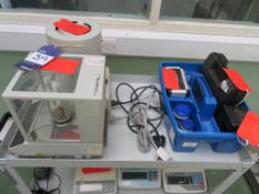 AND Infrared Moisture Determination Balance & Mettler AC100 Lab Scale