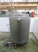 2011 Blackrow Jacketed Holding Tank (c850mm int/950mm ext x 1000mm deep)