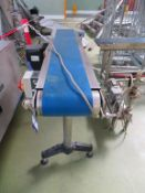 2 x Belt Conveyors (1420 x 200mm & 2000 x 200mm) each fitted with Inverter Drives Controller)