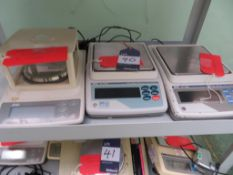 3 x AND Digital Scales - Models HF-300G, GF-2000 & GX - 4000