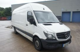 Mercedes Benz 313 CDI LWB Sprinter High Roof Panel