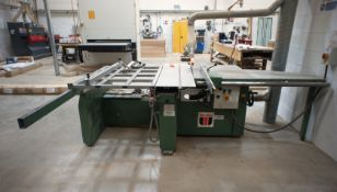 Wadkin CP15 Panel Saw, serial number 90126 (disconnection required by qualified electrician)