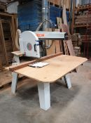 Maggi Best 700S Radial Arm Saw, 550mm blade, serial number 56840201, year of manufacture 2005 (