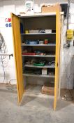 Probe Double Door Metal Cabinet, 1790 x 915 x 450mm including contents