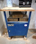 Clarke Single Door Workshop Cabinet, 850 x 480 x 480mm