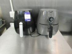 Philips HD9216 and HD9230 Digital Air Fryers (2 Fryers)