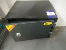Alpha Safes Small Office Safe with Key