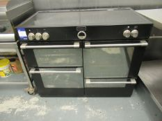 Stoves 5 Induction Ring Cooking Range with 4 Ovens