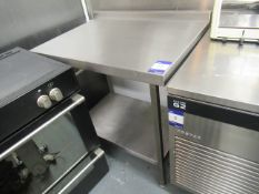 Stainless Steel Preparation Table with Undershelf 900x650mm