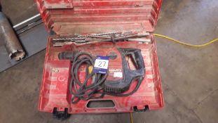 Hilti TE50 Corded Rotary Hammer Drill 110v
