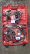 2 X Hilti 110v Rotary Hammer Drills comprising of