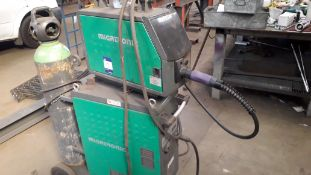 Migatronic Omega 400 Mig Welding Set with Migtronic MWF27 Wire Feed (2016) (Bottle Not Included) (