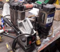 2 x Jei Mini Beast Magnetic Drills 110v
