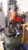 Bewo CD0315HT Cabinet Mounted Cut Off Saw (2000) Serial Number 300511048