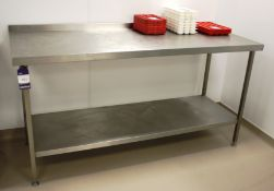 Stainless Steel Bench 1800 x 700