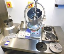Hallde RG-350 Food Processor, Serial Number 125108