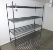 7 x Adjustable Wire Racks Approx. 1800 x 600mm