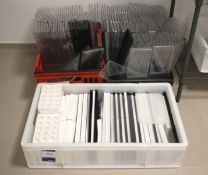 Assorted Silica Moulds and Trays
