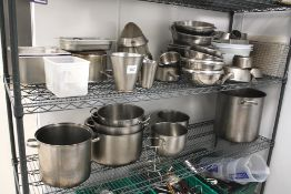 Pots and Pans 2 x Shelves