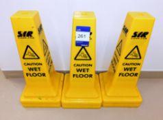 11 x Wet Floor Cones