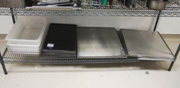 Baking Trays to Bottom Shelf