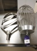 R60 Mixing Paddle & Whisk