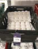 Approx. 12 White Silica Moulds, 15 Section