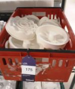 White Silica Moulds to Crate